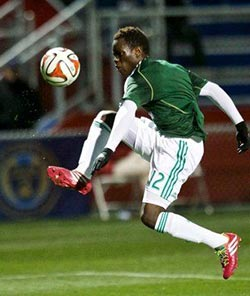 Striker, 17, living US soccer dream