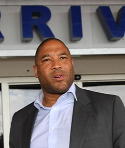 I'm happy to be here: John Barnes