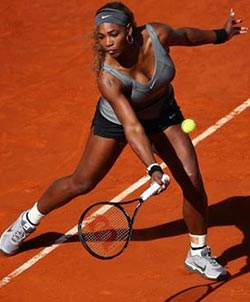 Serena cruises into Madrid Open third round