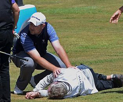 Anger as Madeira Open goes on despite caddie's death