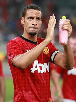 Rio Ferdinad leaves  Manchester United