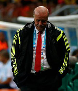 Stunned Spain coach: We're all to  blame