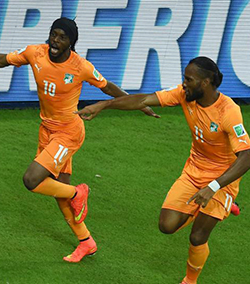 World Cup: Ivory Coast sink Japan