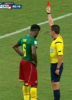 World Cup: Sorry Cameroon out
