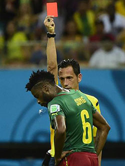 World Cup: Worst 11 players of teh group stages  Red mist … Pepe (left) was sent  off in the first half of the  opening game against Germany