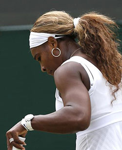 Wimbledon: Top seed Serena Williams crashes out