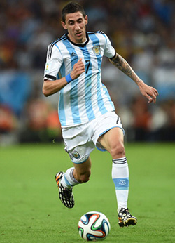 World Cup: Aguero back, Di Maria out for Argentina  Getting ready for semi final against the Netherlands … Lionel Messi with Sergio Aguero