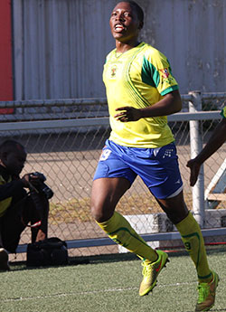 Dinyero off  to winning start with Harare City  Relegation fight … Harare City players celebrate one of their goals against Chiredzi