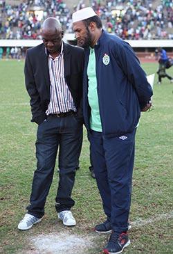 Gorowa picked players he wanted to sell?  Shock allegations … Zifa boss Cuthbert Dube and CEO Jonathan Mashingaidze