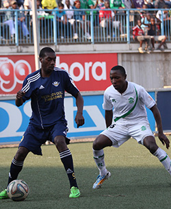Caps held to home draw by How Mine