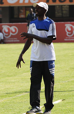 ZPC Kariba beat Dynamos, title  theirs to lose  League title one game away … ZPC Kariba supporters secelbrate Saturday's victory  Crucial stop … Dynamos goalkeeper Tendai Mukuruva saves another ZPC Kariba effort
