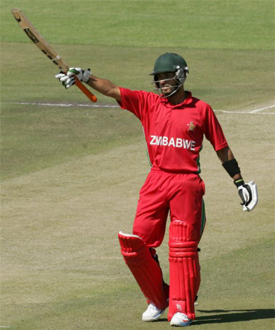 'I play every game  like it's my last': Zimbabwe's Raza