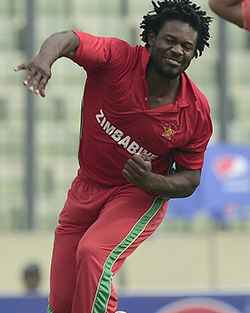 Zimbabwe's cricket world cup squad named