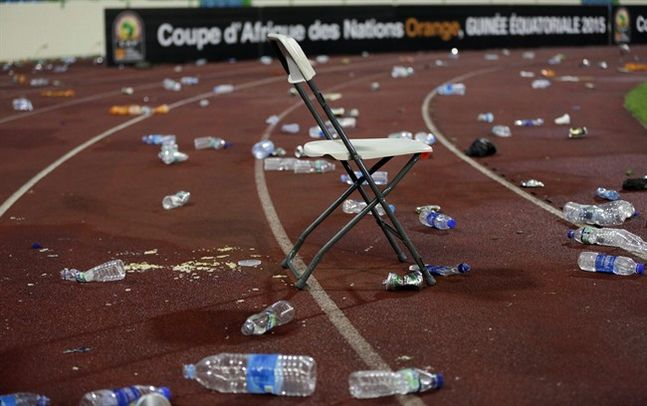 Caf to punish E/Guinea for crowd violence