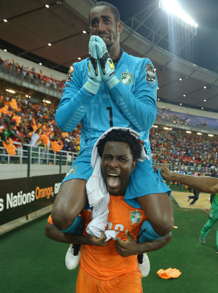 Keeper helps Ivory Coast lift 2015 Nations Cup