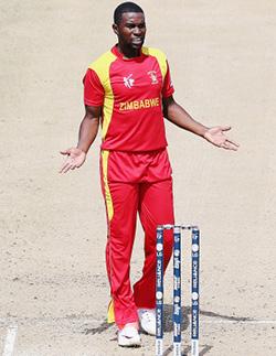 Chigumbura Bemoans Zimbabwe 'Death' Bowling  Still hopeful Zimbabwe can make quarter finals of the world cup … Elton Chigumbura