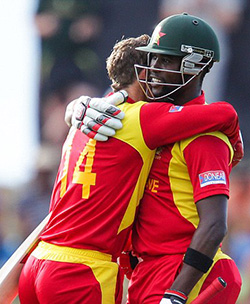 Campbell: Zimbabwe can beat India,  Pakistan