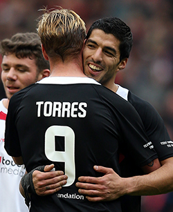 Suarez: I'd only come back to England to play for Liverpool