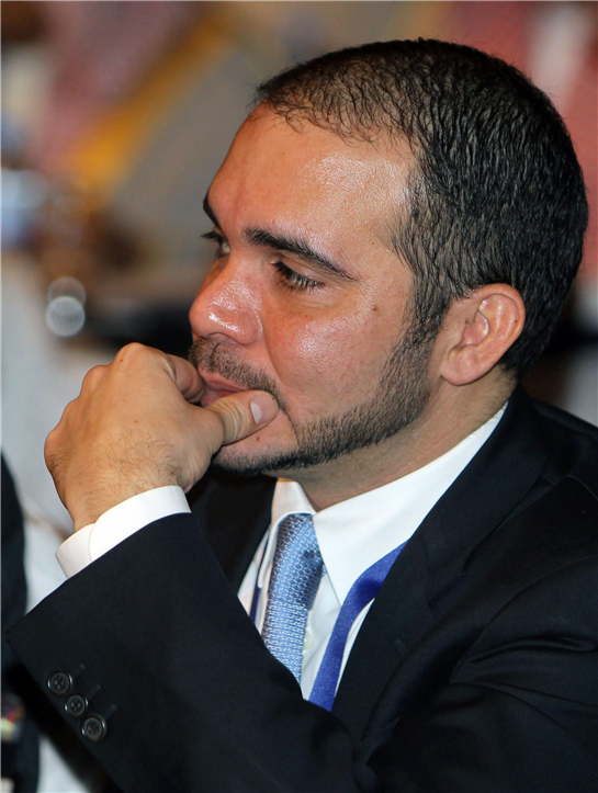 FIFA challenger  Prince Ali in visits Zimbabwe and Blatter's stronghold   Challenging Sepp Blatter … Prince Ali bin al-Hussein (centre) in Harare on Tuesday