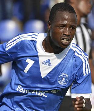 Dynamos' Chitiyo  applauds teammates