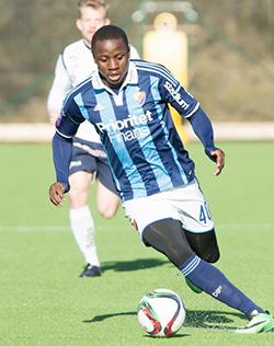Discarded  Mushekwi scores his third goal in Djurgardens win