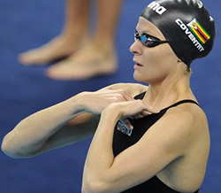 Kirsty Coventry downs  Zimbabwe record in 50 Back