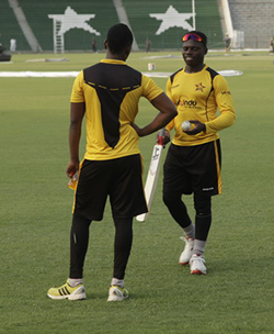Zimbabwe  team arrives in Pakistan, Bvute says no place in the world is safe