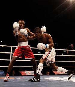 Boxer Joe Maphosa seeks revenge in GB Elite Three Nations  Chance for amends … Joe Maphosa (left) lands a punch against Sunny Edwards