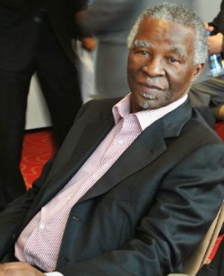 Former South Africa president issues denial in WCup bid scandal