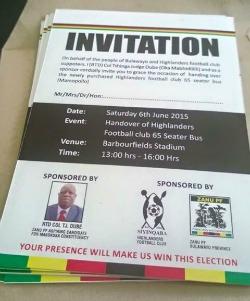 Bus  handover overshadows Bulawayo derby