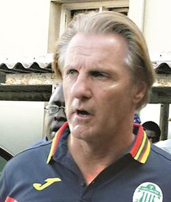 Caps United coach Harrison resigns