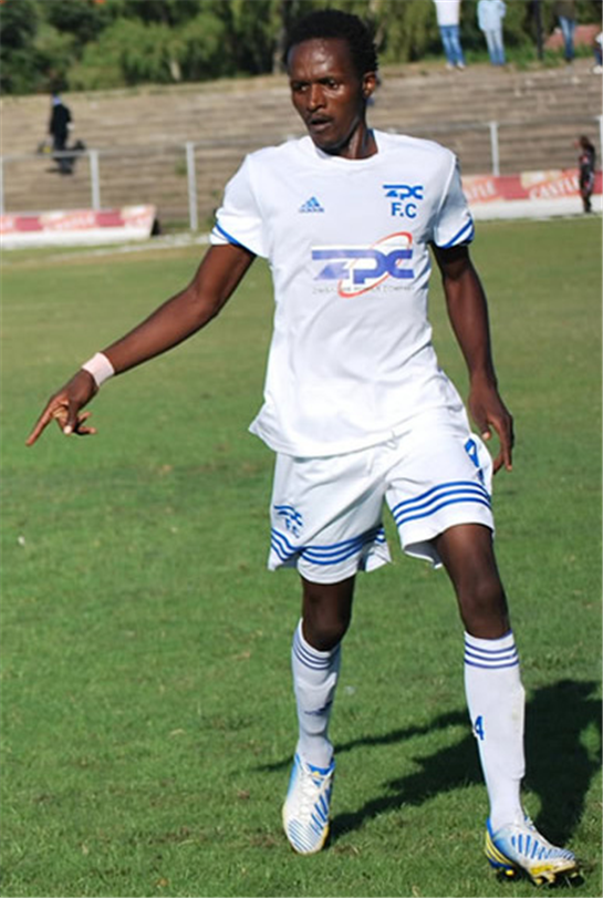 Soccer  Star of the Year Dauda, Katebe impress SA club  South Africa chance … Soccer star of the year and ZPC Kariba defender Dennis Dauda