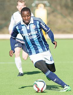 Super sub Mushekwi strikes winning goal for Swedish side