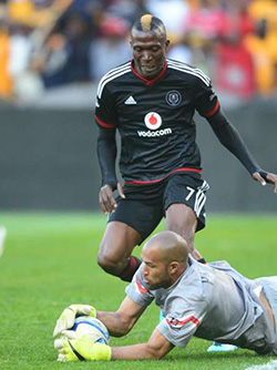 Ndoro set to  feature for Pirates in Caf Confederations Cup