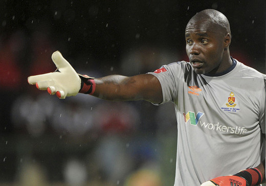 SA club starts contract negotiations  with star goalkeeper Washington Arubi