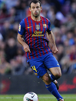 Javier Mascherano charged with tax fraud