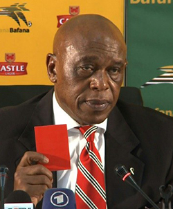 Launching  FIFA bid, South Africa's Sexwale wants to repair brand
