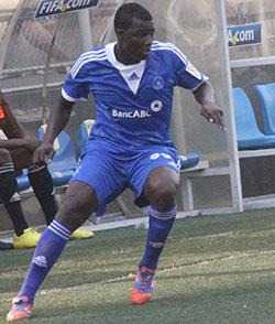 Dynamos defender Mushure  misses Warriors Chan training