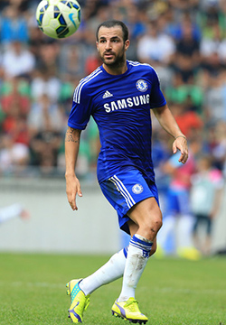 Fabregas won't leave Chelsea in January, says Chelsea coach