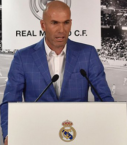 Don't compare me with Guardiola, says new Real Madrid coach Zidane