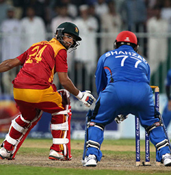 Mohammad Shahzad hits 118 as Afghanistan beat Zimbabwe, clinch series