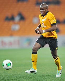 Katsande  takes over penalty duties at Kaizer Chiefs