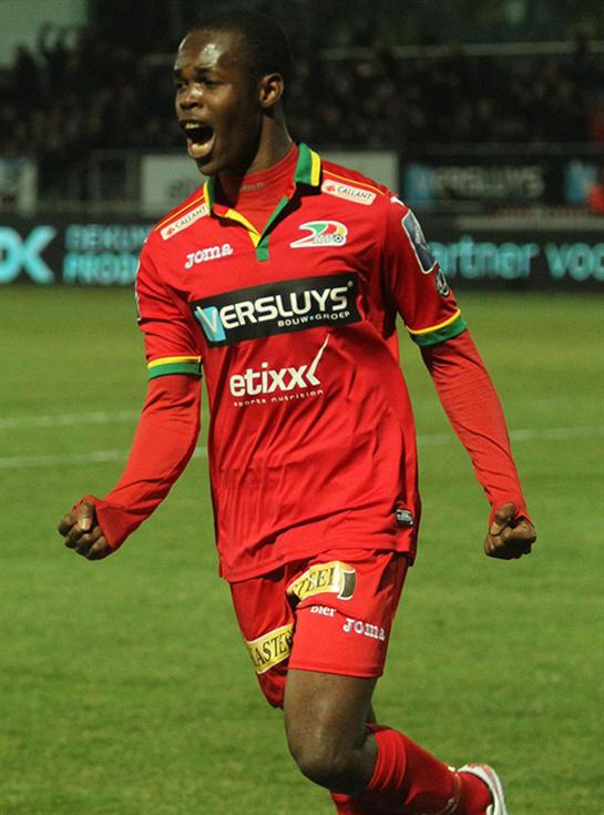 Belgium-based  Musona on target again, scores his 10th goal for KV Oostende