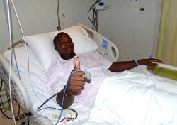 Allrounder Luke Jongwe struck by ball in follow through during practice match, cricket star hospitalised