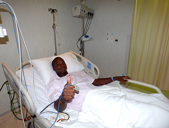 Luke Jongwe  injured in Zimbabwe's first practice match in the United Arab Emirates