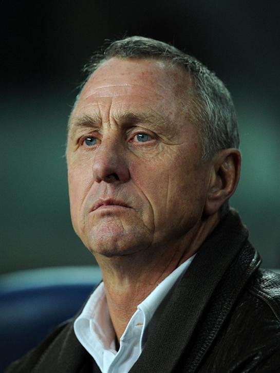 Dutch football legend Cruyff dies aged 68  Helped Ajax Amsterdam win three European Cups in a row from  1971-73 … Johan Cruyff