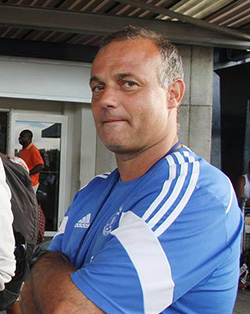 Dynamos: Coach Silva told he can fire Muzadzi  Warring trio … Dynamos coaches Gift Muzadzi (left ) and Paulo Jorge Silva (right)