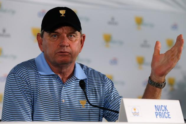 Price, Stricker named captains for 2017 Presidents Cup