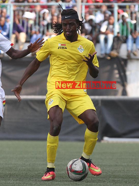 We can end  Africa nations cup agony, says Nhamoinesu  Zimbabwe need to beat Malawi on Sunday … Costa Nhamoinesu (right)