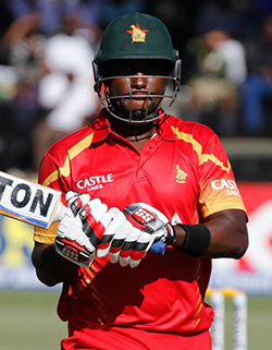 Rejuvenated Zimbabwe shock mighty India by two runs   Zimbabwe players celebrate Saturday's win